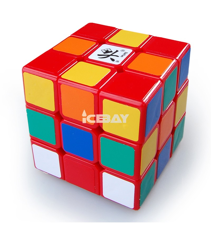 Dayan Zhanchi 3x3x3 57mm Speed Cube Puzzle, Red