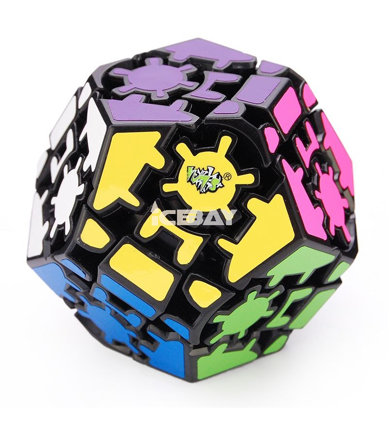 LanLan Cane Ball Magic Cube Black