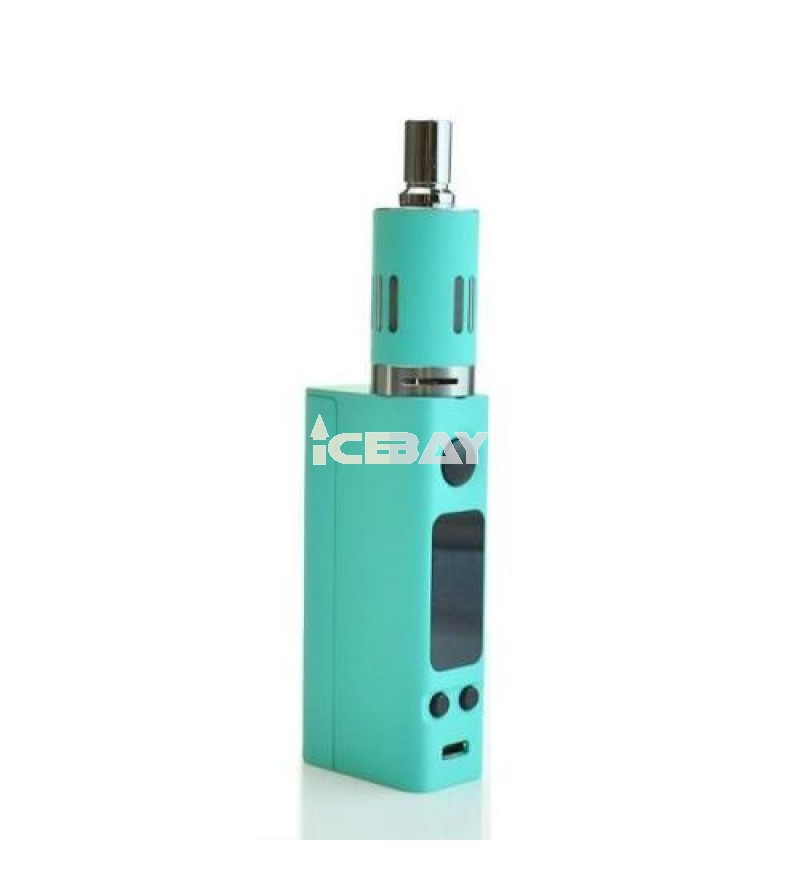 Eastvita NEW EVIC-VTC MINI 60W Temp Control Box MOD Full Kit uprgraded Firmware Blue