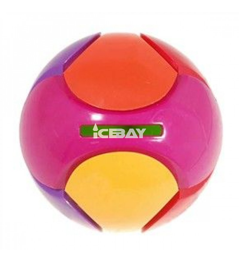 YJ Assembly Rainbow Ball Magic Cube Puzzle Game Toy