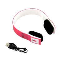 Eastvita Wireless Sports Bluetooth Headset Stereo Headphone Headband BH23 For Smartphone Color:pink
