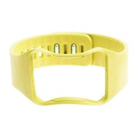 Eastvita Hot Sale New Replacement Bangle Strap Wrist Band for SAMSUNG GALAXY GEAR S SM-R750 Bracelet Birthday Best Price Gift Yellow