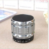 Eastvita Portable Mini Bluetooth Speakers Wireless FM Radio Support SD Card For iPhone Color Silver