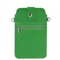 Eastvita Fashion Black PU Leather Case Shoulder Cross-body Bag Pouch for iPhone 6 Plus Green