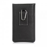 Eastvita Pouch Retro PU Leather Belt Holster Pocket Sleeve Bag Case For Cell Phone Small Black