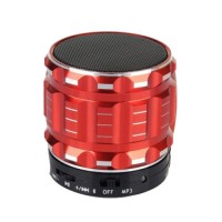 Eastvita Portable Mini Bluetooth Speakers Wireless FM Radio Support SD Card For iPhone Color Red