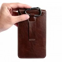 Eastvita PU Leather Case Pouch Sleeve Bag Cover Belt Holster For Apple iPhone 6 or 6 Plus Coffee
