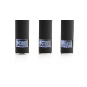 AGO G5 7-in-1 Rechargeable 650mAh Dry Content Vaporizer LCD Display Electronic Cigarettes Set
