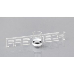 Large Size Glass + ABS Hybrid 510 Drip Tip