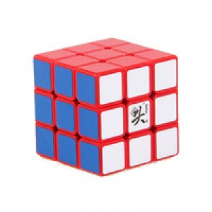 Dayan Lingyun V2 3x3x3 57mm Speedcube Puzzle, Red
