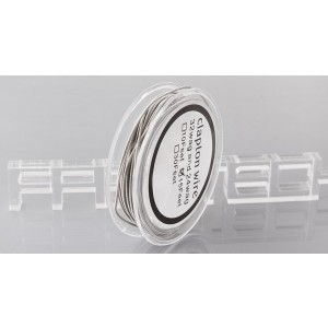Clapton Coiled Heating Wire for Rebuildable Atomizers