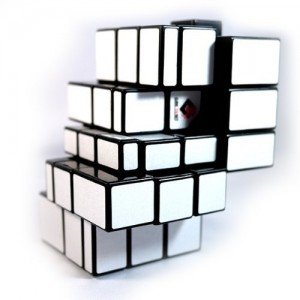 Cube Twist 3x3x3 Bandaged Brain Teaser Magic Cube Black
