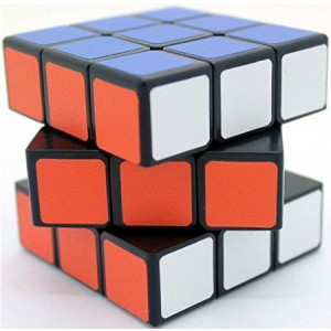 Shengshou Sujie 57mm 3x3x3 Magic Cube Puzzle  Black
