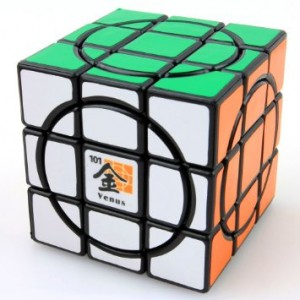 MF8 Dayan Crazy 3x3 Speed Cube Venus Black