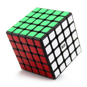 YJ Moyu Aochuang New Structure 5x5x5 Speed Cube Black