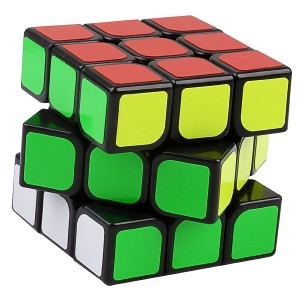 YJ MoYu AoLong V2 3x3x3 Speed Cube Enhanced Edition Black Puzzle,