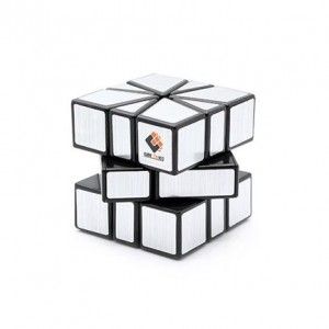 Cube Twist Square-1 Magic Puzzle Speed Cube Silver Black