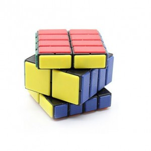 Cube Twist 2x3x4 Bandaged Brain Teaser Magic Cube