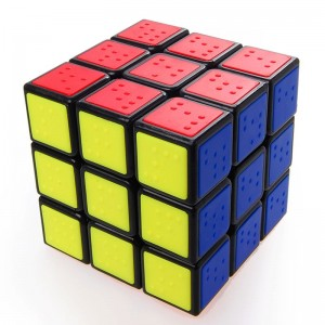 C4U  Blind Sudoku Tiled Speed Cube Black