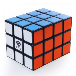 Cube4U (C4U) 3X3X4 Speed Cube Black