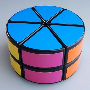 DS 2-Layer Petal Column Magic Cube Black