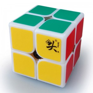 Dayan 46mm 2x2 Speed Cube Magic Cube White