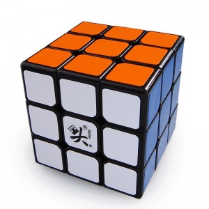 Dayan 5 Mini ZhanChi 55mm ZhanChi 3x3x3  Magic Cube  Black