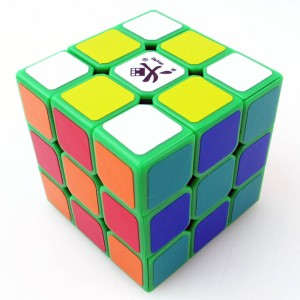 Dayan Zhanchi 3x3x3 42mm Magic Cube Puzzle, Green