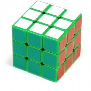 Dayan Zhanchi 3x3x3 57mm Speed Cube Puzzle, Green