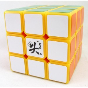 Dayan Zhanchi 3x3x3 57mm Speed Cube Puzzle, Yellow