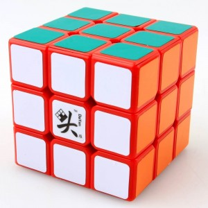 Dayan Zhanchi 3x3x3 50mm Magic Cube Puzzle, Red