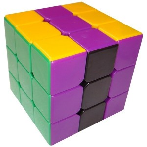 Dayan Zhanchi 3x3x3 50mm Magic Cube Puzzle, Stickerless Black