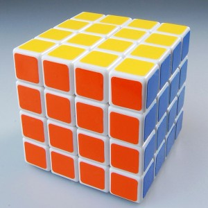 Dayan 4X4 66mm Dayan+MF8 Speed Cube  White
