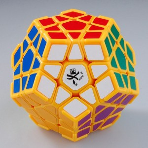 DaYan Megaminx I Light Yellow With Corner Ridges