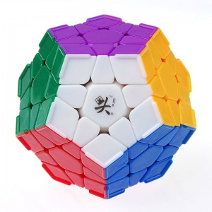 Dayan Megaminx I With Corner Ridges Stickerless 12 Solid Color Body