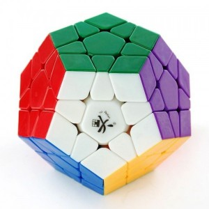 Dayan Megaminx Dodecahedron Magic Cube Stickerless Black