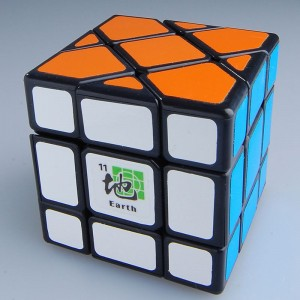 Dayan Bermuda Triangle Magic Cube Black (Earth)
