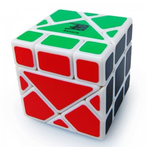 Dayan Bermuda Triangle Magic Cube White (Saturn)