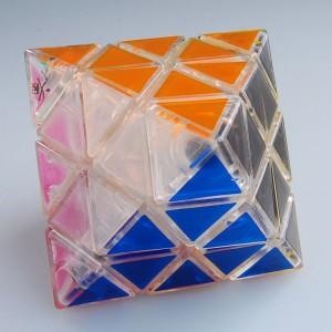 DaYan Octahedron Speed Cube Transparent