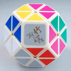 DaYan Jewel Magic Cube White