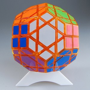 Dayan Gem VII Magic Cube Transparent Orange