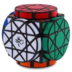 Dayan Wheels of Wisdom Cube Puzzle, Black
