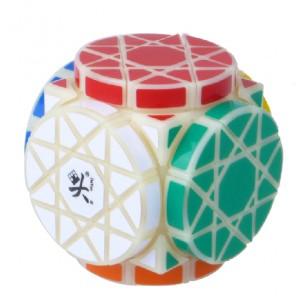 Dayan Wheels of Wisdom Cube Puzzle, White