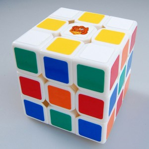 Presale Gan III 3x3x3 Speed Cube with Patented Innovative Octopus Core White