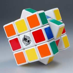 GhostHand Kuaike V2 3x3x3 Speed Cube Puzzle, White