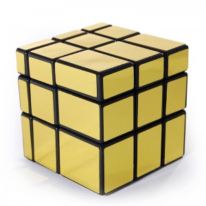 GhostHand (GS) Golden Mirror 3X3 Speed Cube Black