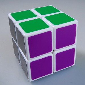 Lanlan 2x2 Speed Cube White