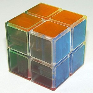 Lanlan 2x2x2 Speed Cube Transparent