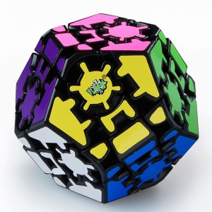Lanlan Gear Dodecahedrons III  Magic Cube Puzzle Cube Black