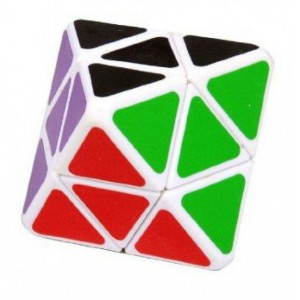 LanLan 4-Layer Octahedral Magic Cube White
